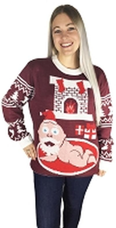 Click to get Ugly Christmas Sweater Santa Baby