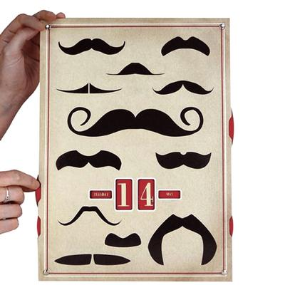 Click to get Moustaches For The Modern Gentleman Perpetual Calendar