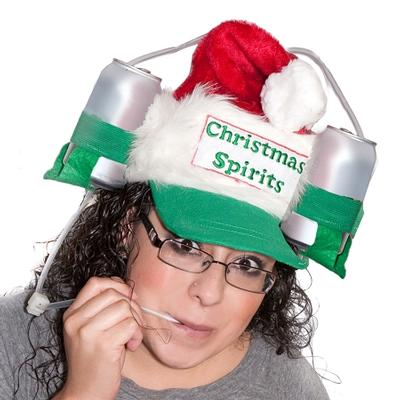 Click to get Santa Drinking Hat