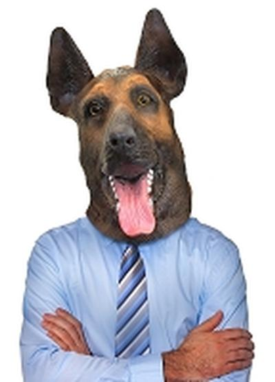 Click to get German Shepherd Mask