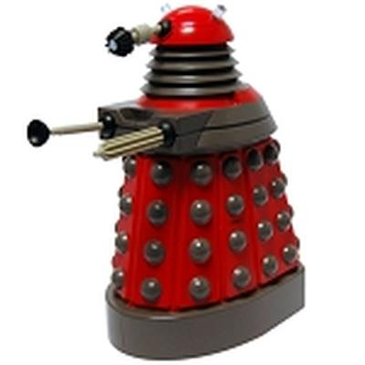 Click to get Doctor Who Talking Money Bank Dalek Red