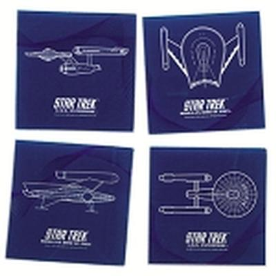 Click to get Star Trek Glass Coaster Set
