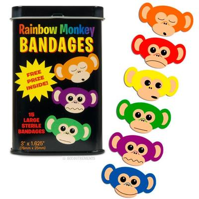 Click to get Rainbow Monkey Bandages