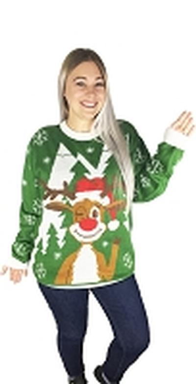 Click to get Ugly Christmas Sweater Hello Deer