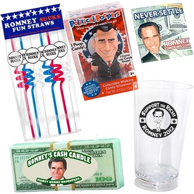 Click to get Mitt Romney Prank Gift Pack