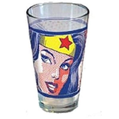 Click to get Wonder Woman Pop Art Glass