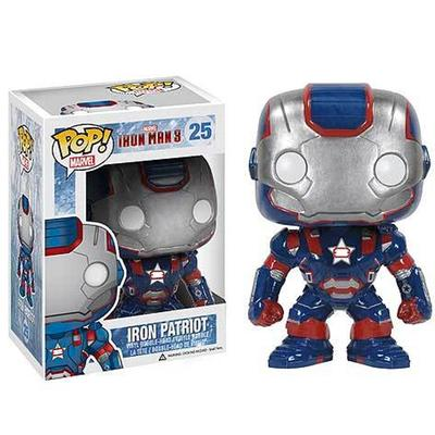 Click to get Pop Vinyl Figure Iron Man 3 Iron Patriot Suit