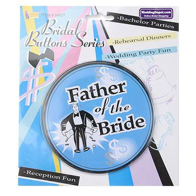 Click to get Father of the Bride Button