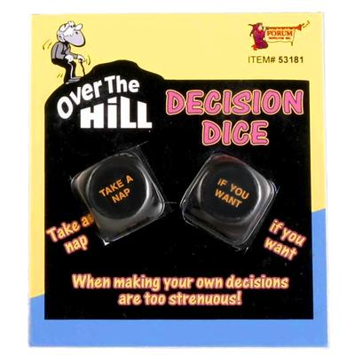 Click to get Over the Hill Decision Dice