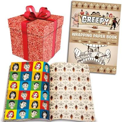 Click to get Creepy Wrapping Paper Book