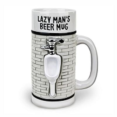 Click to get The Lazy Mans Beer Mug