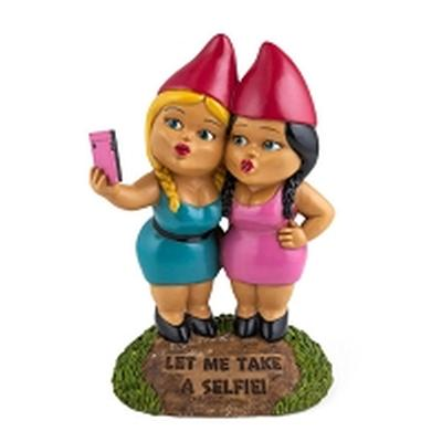 Click to get Selfie Sisters Garden Gnomes