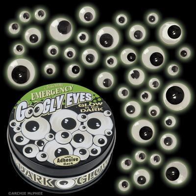 Click to get Emergency Glow in the Dark Googly Eyes