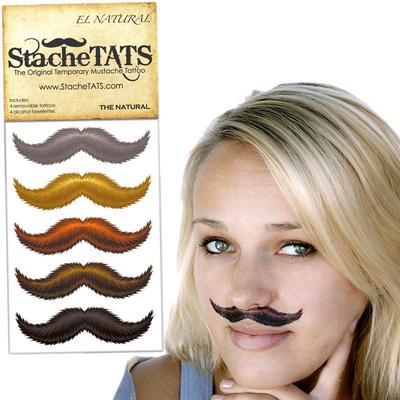 Click to get Stache Tats The Natural Temporary Mustache Tattoos