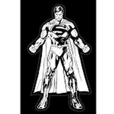 Click to get Justice League Car Decal Superman
