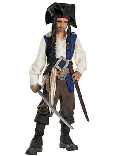 Click to get Jack Sparrow Costume  Teen and Child