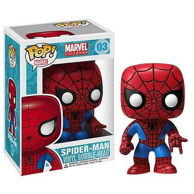 Click to get SpiderMan POP Vinyl Figure