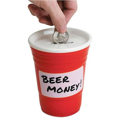 Click to get Red Cup Beer Money Coin Bank