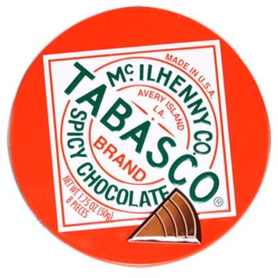 Click to get Tobasco Flavored Chocolate