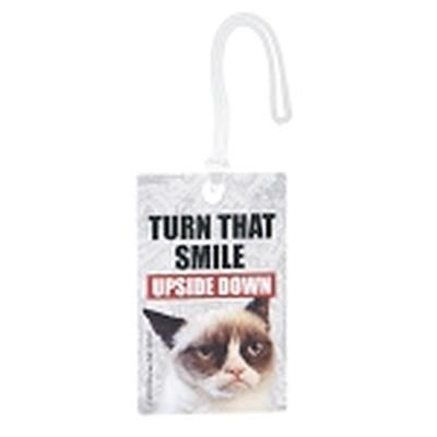 Click to get Grumpy Cat Luggage Tag Turn That Smile