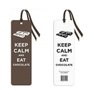 Click to get Keep Calm and Eat Chocolate Bookmark
