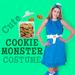 Sassy Cookie Monster Costume