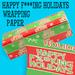 Happy F***ing Holidays Gift Wrap