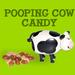 Pooping Cow Candy