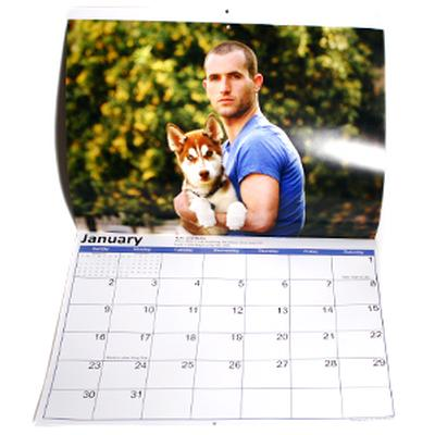 Click to get Hot Guys and Baby Animals 2011 Calendar
